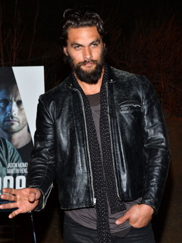 Jason Momoa Jacket, Aquaman Leather Jacket,