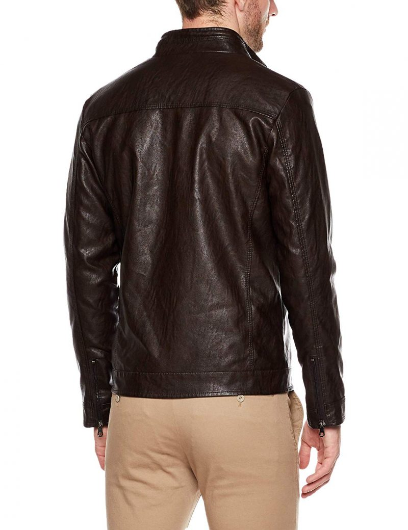 Men's Vintage Brown Leather Jacket