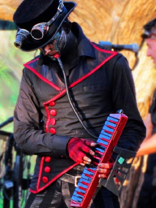 Musical band Steam Powered Giraffe Rabbit cosplay replica vest