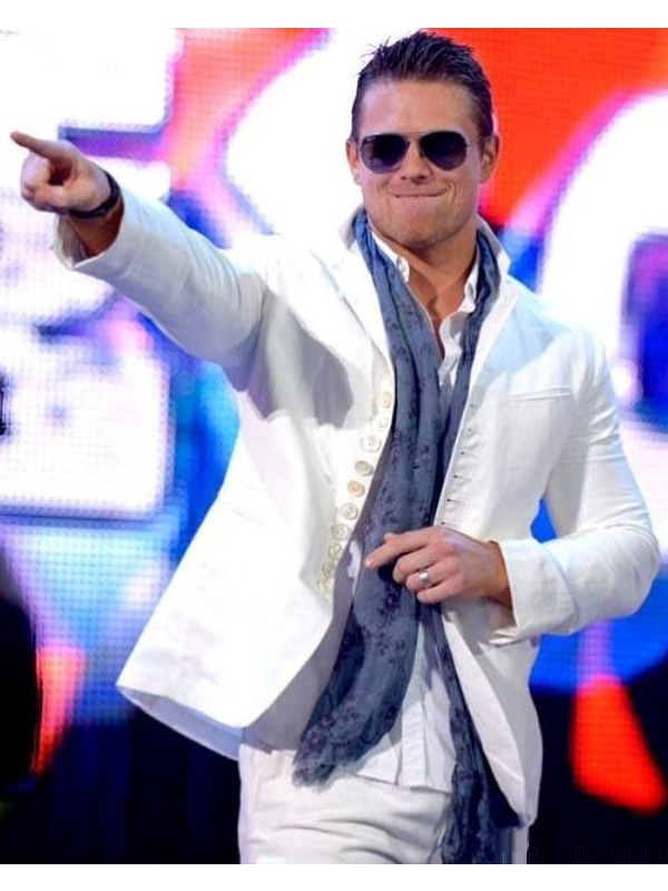 American professional Wrestler The Miz Yuxedo Coat