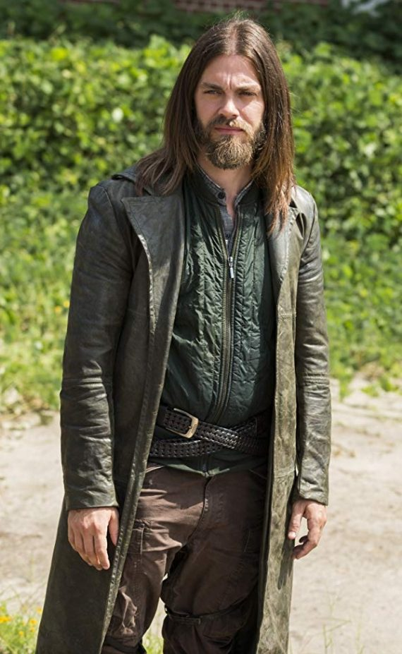 TV Series The Walking Dead Tom Payne Leather Coat