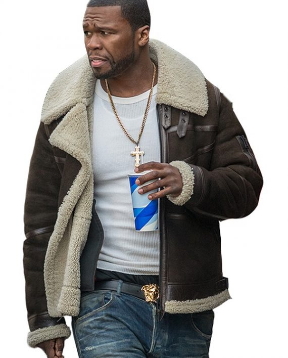 50 Cent Kanan Power Elegant Design Suede Leather Jacket
