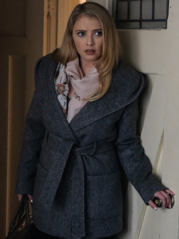 Twisted Kara Spencer Elisabeth Harnois Coat