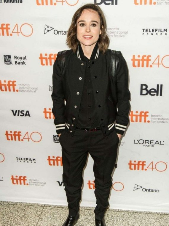 Into the Forest Nell Ellen Page Varsity Jacket