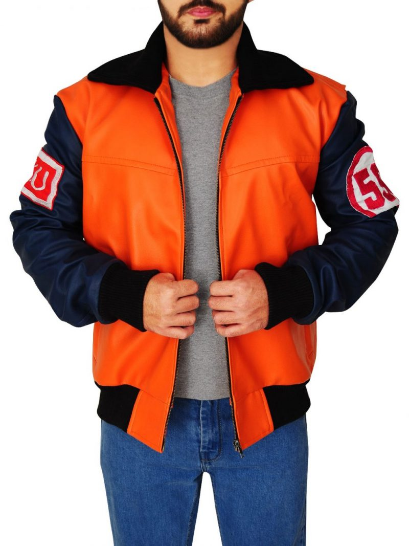 Goku 59 Dragon Ball Z Leather Jacket,
