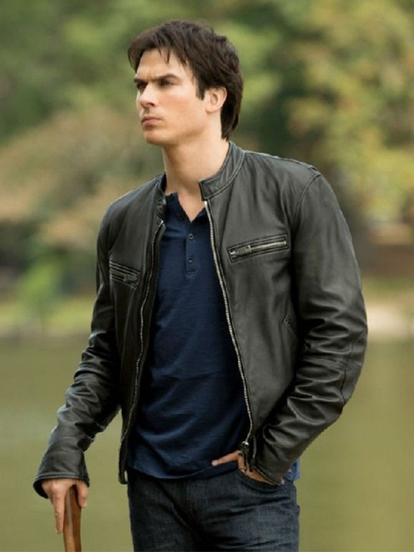 The Vampire Diaries Damon Salvatore Ian Somerhalder Jacket