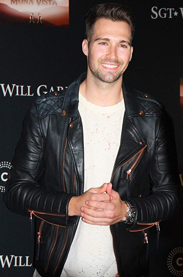 SGT. Will Gardner Event James Maslow Motor Biker Jacket