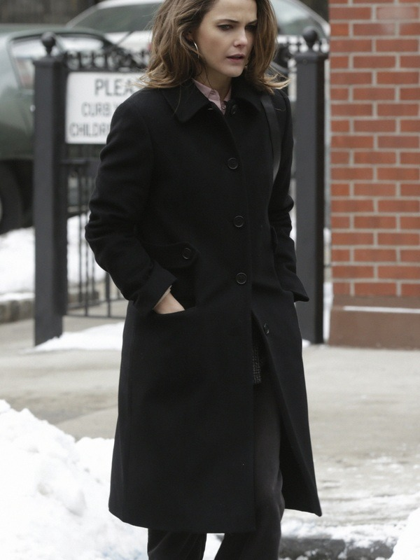 The Americans Elizabeth Jennings Keri Russell Coat
