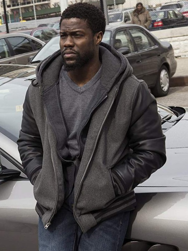 Movie The Upside Dell Scott Kevin Hart Hooded Jacket
