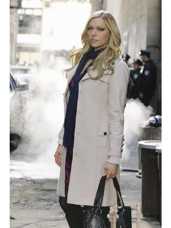 Laura Prepon Castle Natalie Rhodes Coat