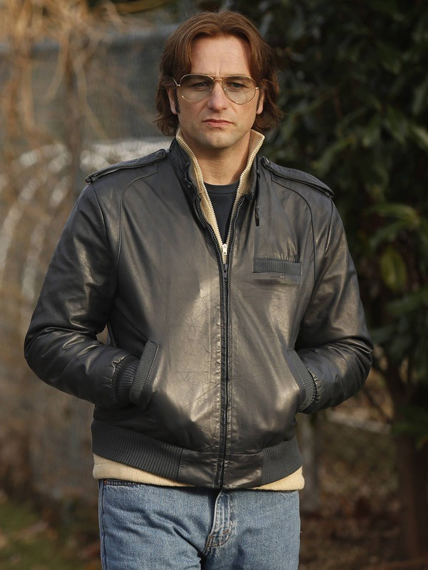 The Americans Philip Jennings Matthew Rhys Leather Jacket
