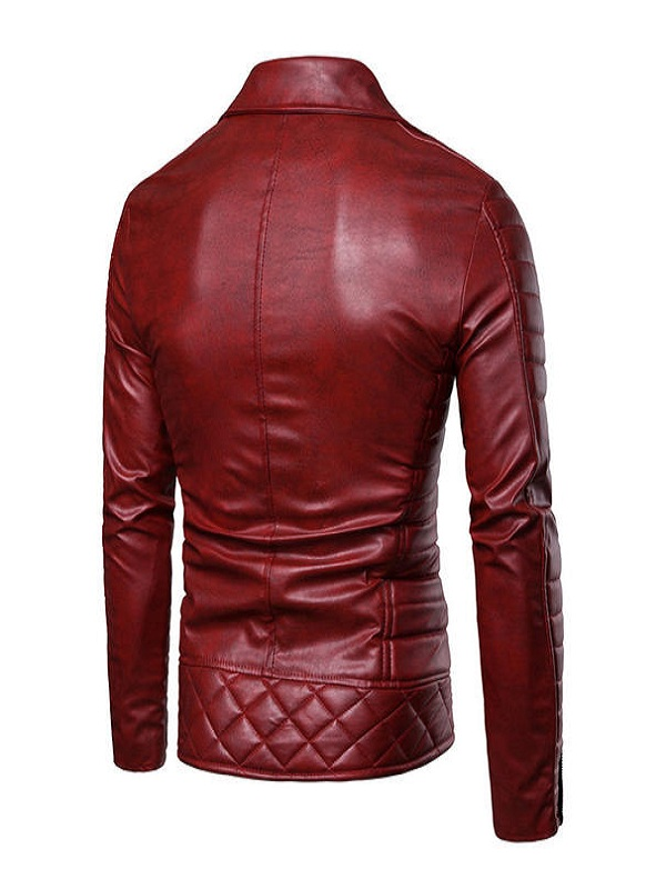 Mens Vintage Style Leather Jacket