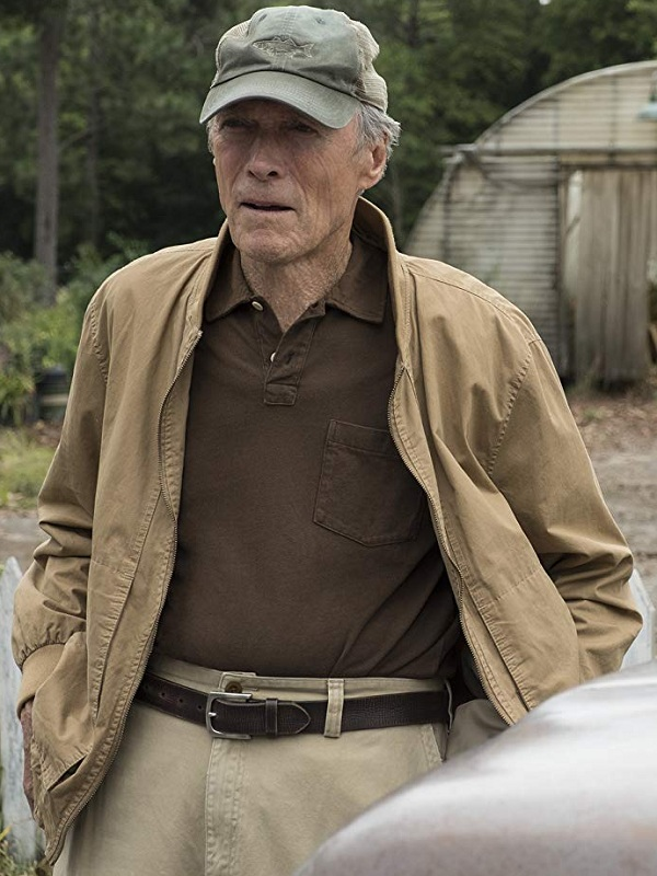 Movie The Mule Earl Stone Clint Eastwood Jacket