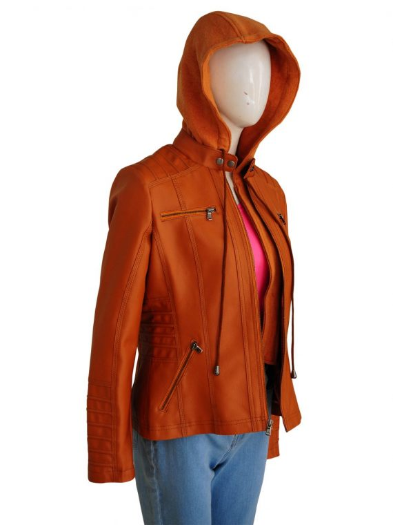 Removable Hooded Womens Jacket,