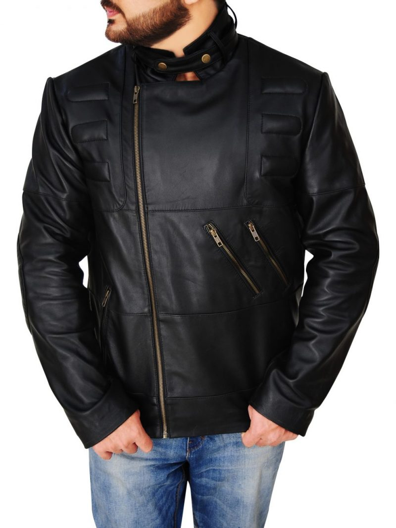 Staying Alive Tony Manero Black Leather Jacket,
