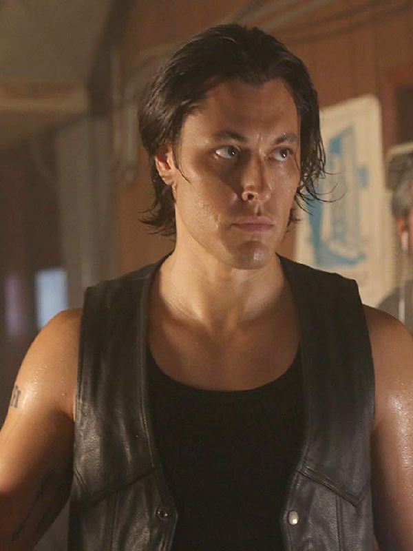 The Gifted John Proudstar Blair Redford Leather Vest