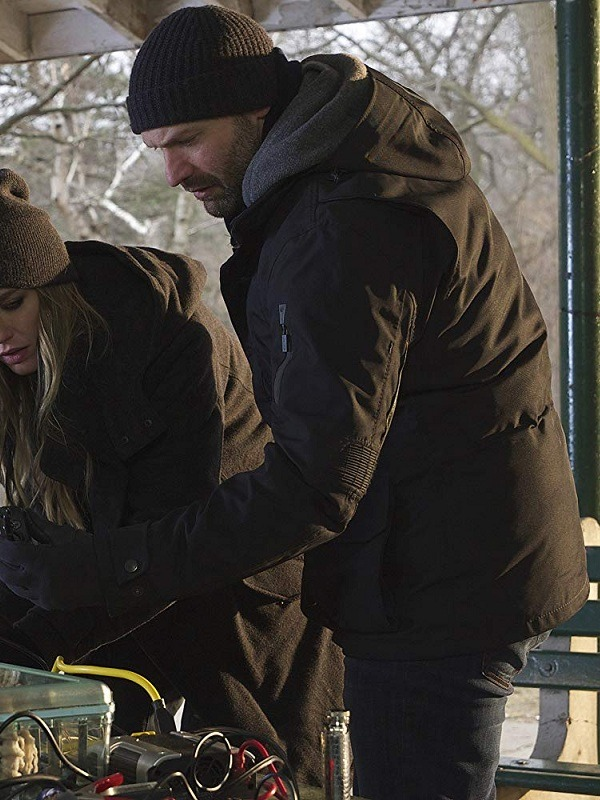 The Strain Ephraim Goodweather Corey Stoll Black Jacket