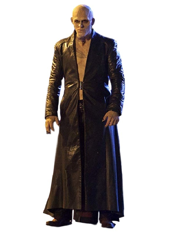 The Strain Gabriel Bolivar Jack Kesy Leather Coat