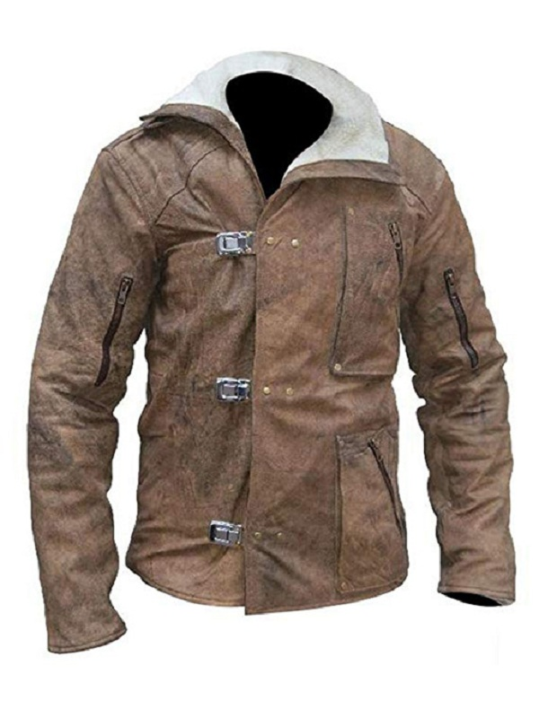 William B.J. Blazkowicz Wolfenstein Leather Jacket