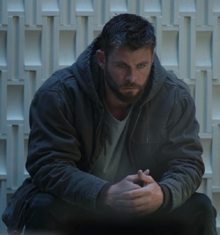 Avengers Endgame Thor Chris Hemsworth Hooded Jacket