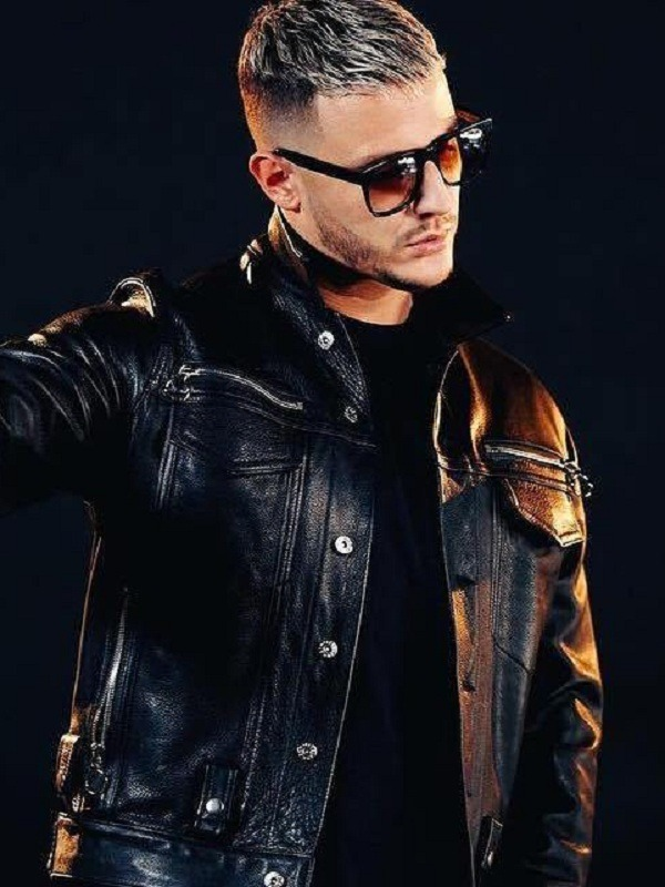 DJ Snake William Sami Étienne Black Jacket