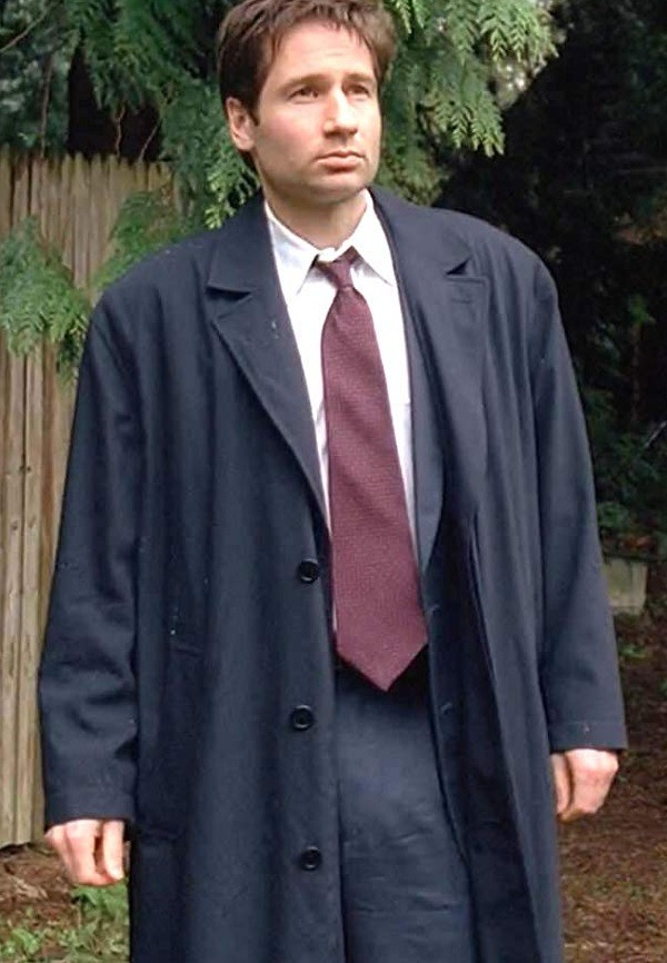 David Duchovny The X-Files Fox Mulder Coat