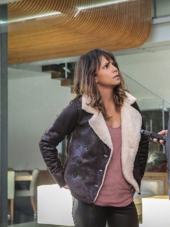 Extant Molly Woods Halle Berry Shearling Jacket