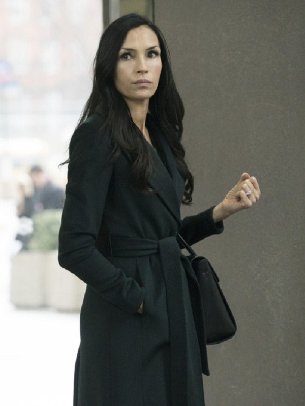 Tv Series The Blacklist Redemption Famke Janssen Susan 'Scottie' Hargrave Wool Coat
