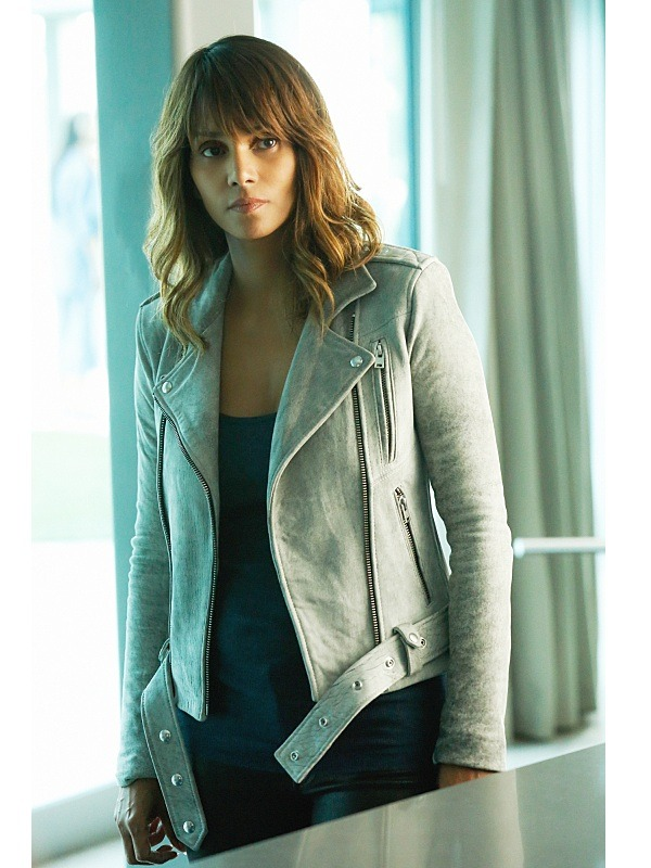 Extant Molly Woods Halle Berry Leather Jacket