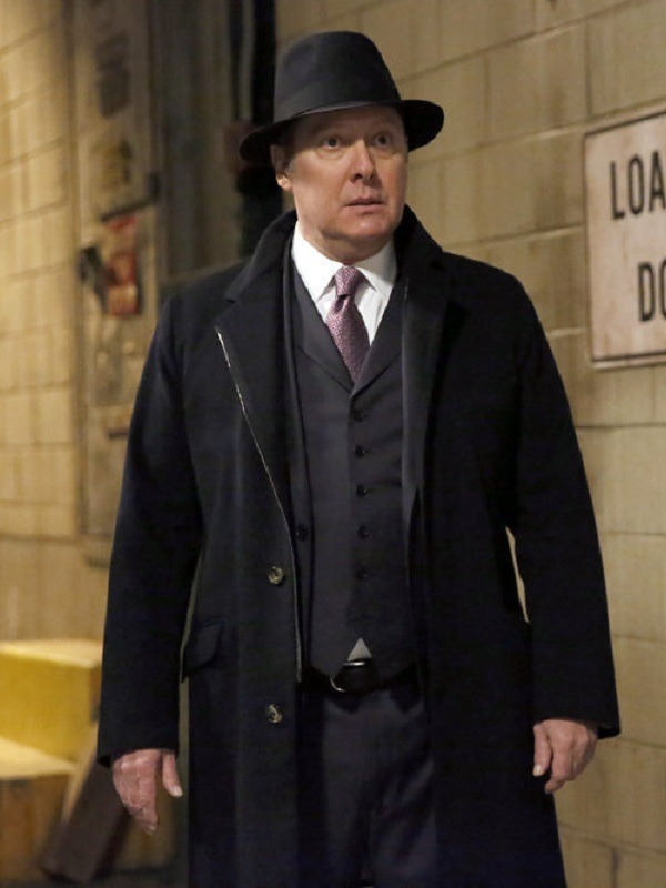 James Spader The Blacklist Raymond Reddington Wool Coat