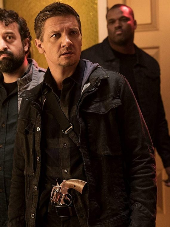 Jeremy Renner The House Tommy Black Jacket