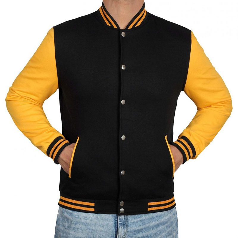 Men's Classic Baseball Varsity Jacket
