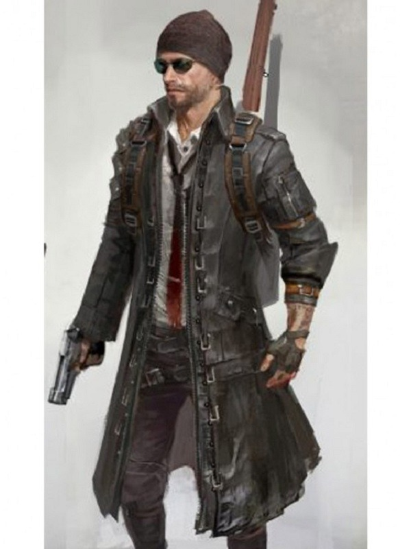 PUBG Playerunknown's Battlegrounds Coat