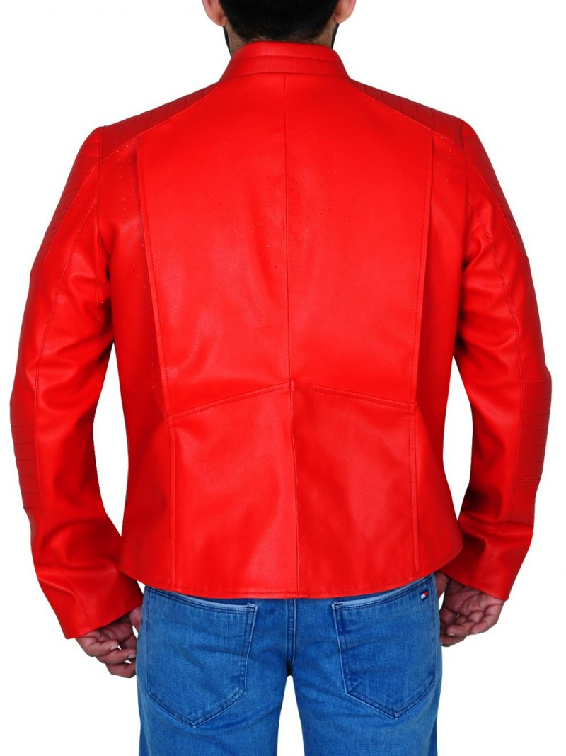 Smallville Red Leather Jacket,