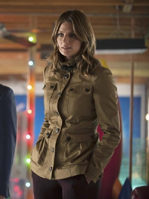 TV Series Castle Stana Katic Classic Jacket