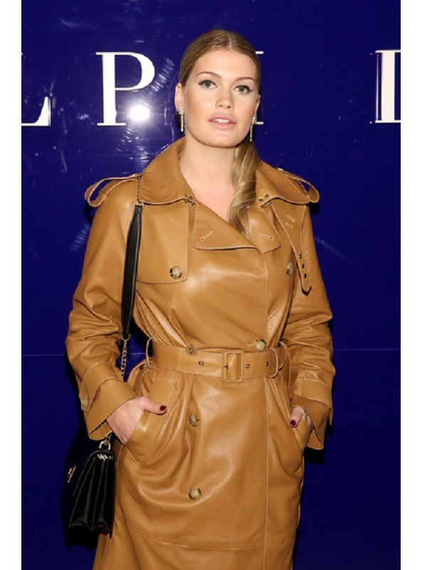 Stylish Fashion Model Lady Kitty Spencer Coat
