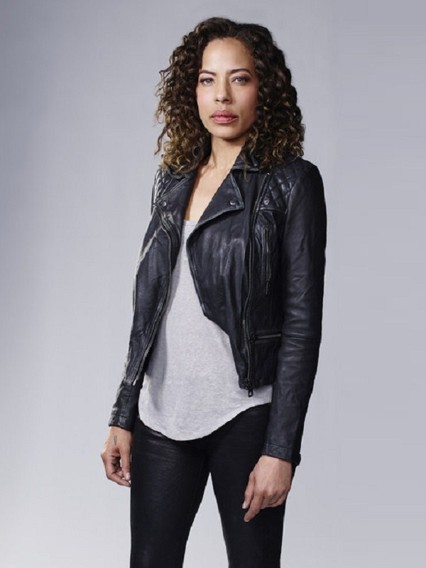 The Blacklist Redemption Nez Rowan Tawny Cypress Leather Jacket