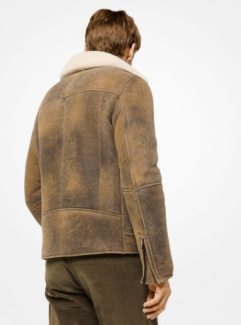 Men's Charming Shearling Jacket
