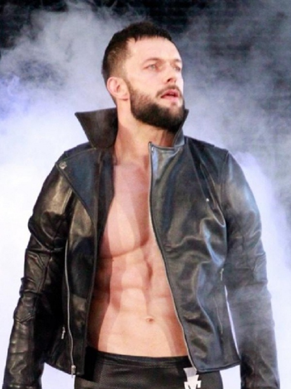 Wrestling Finn Balor Leather Jacket