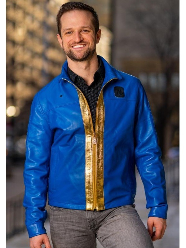 Online Action Game Fallout 76 Costume Leather Jacket