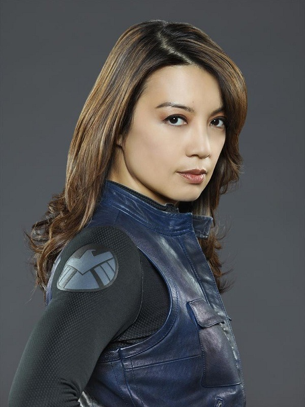 Agents of S.H.I.E.L.D. Melinda May Ming-Na Wen leather Vest