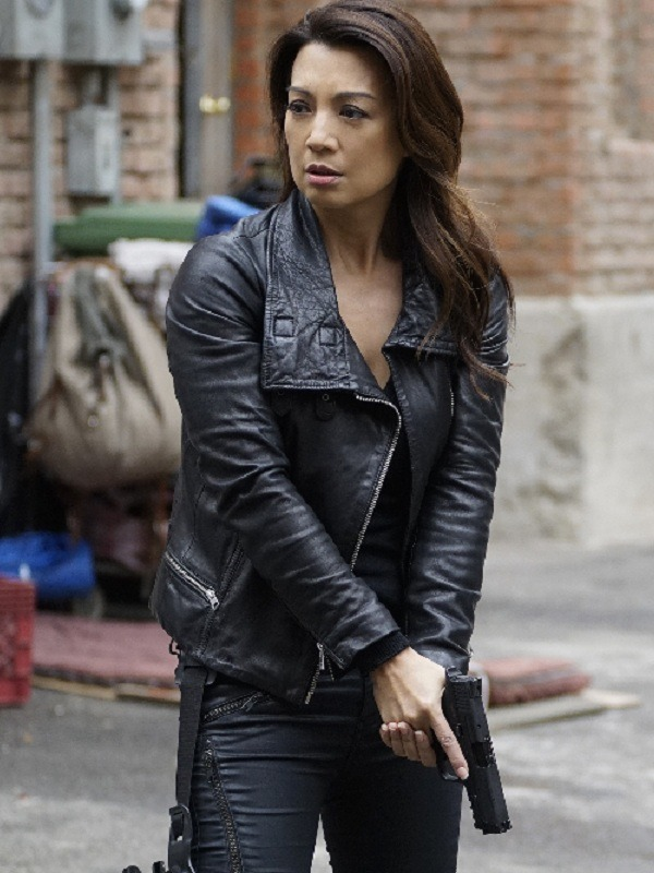 Agents of SHIELD Ming-Na Wen Black Jacket