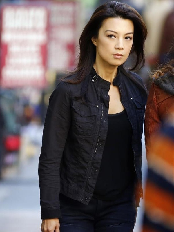 Agents of SHIELD Ming-Na Wen Cotton Jacket
