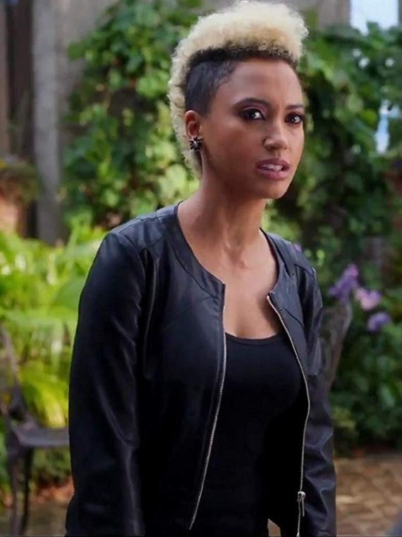 Pitch Perfect 3 Serenity Andy Allo leather Jacket