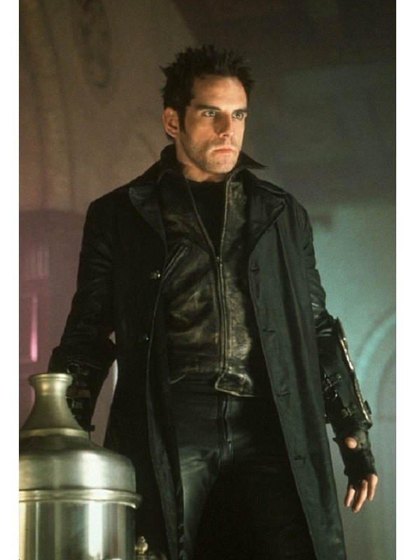 Mystery Men Furious Ben Stiller Black Coat