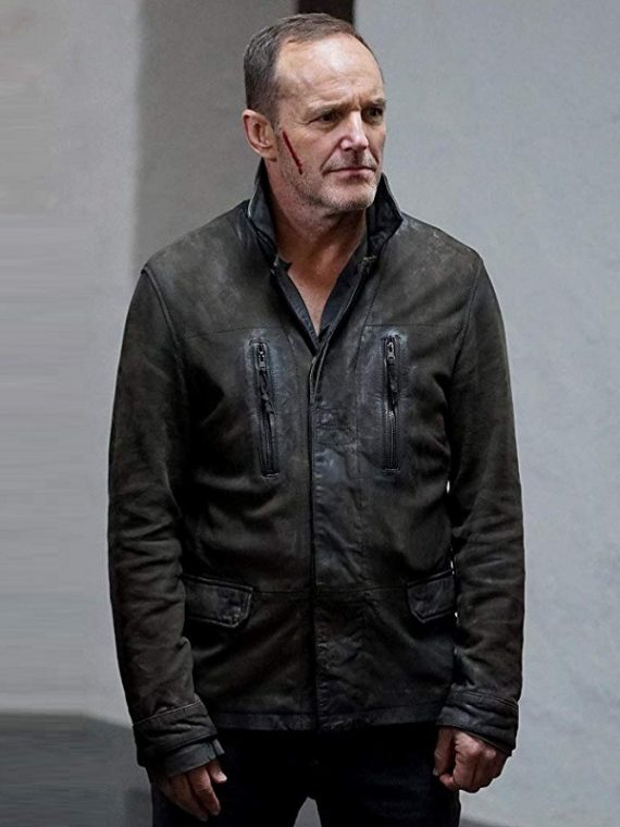 Agents of S.H.I.E.L.D Clark Gregg as Phil Coulson Jacket