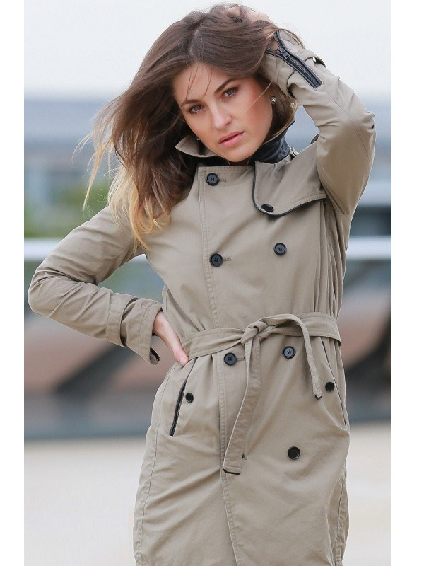 Singer Viktorija Faith Trench Coat