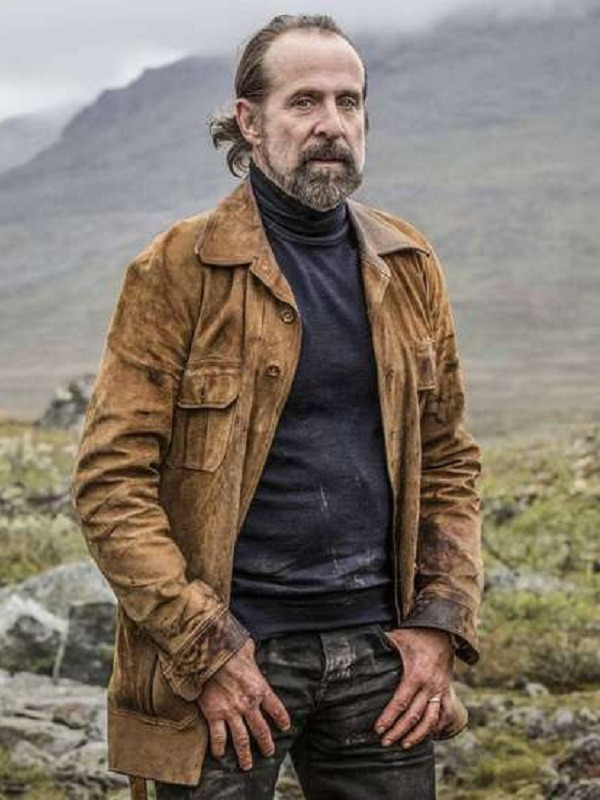 Midnight Sun Rutger Burlin Peter Stormare Suede Jacket