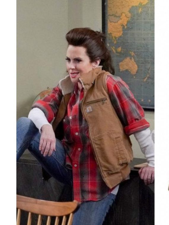 Will and Grace Megan Mullally Cotton Vest,