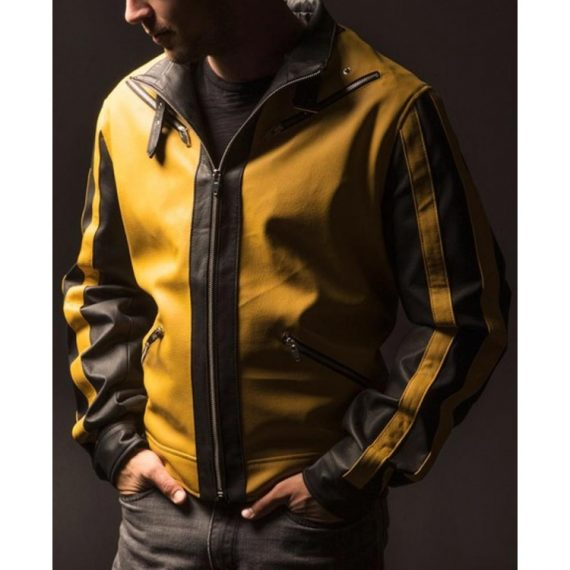 Video game Wolfenstein II: The New Colossus Yellow Leather Jacket